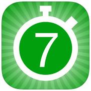 ダイエットアプリレビュー22『7 分間エクササイズ - 7 Minute Workout Challenge』