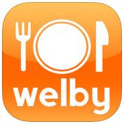 勝手にダイエット・アプリ・レビュー8『welby食事ノート』