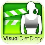 ダイエットアプリレビュー20『見た目ダイエット日記 〜体重と一緒に写真も記録〜』