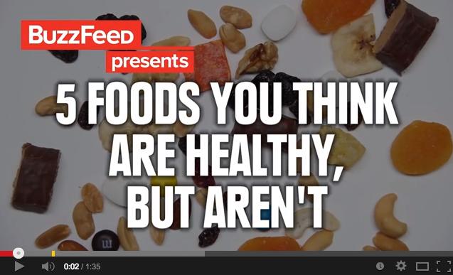 言葉にだまされないで!よくある5つの健康食品をチェック!