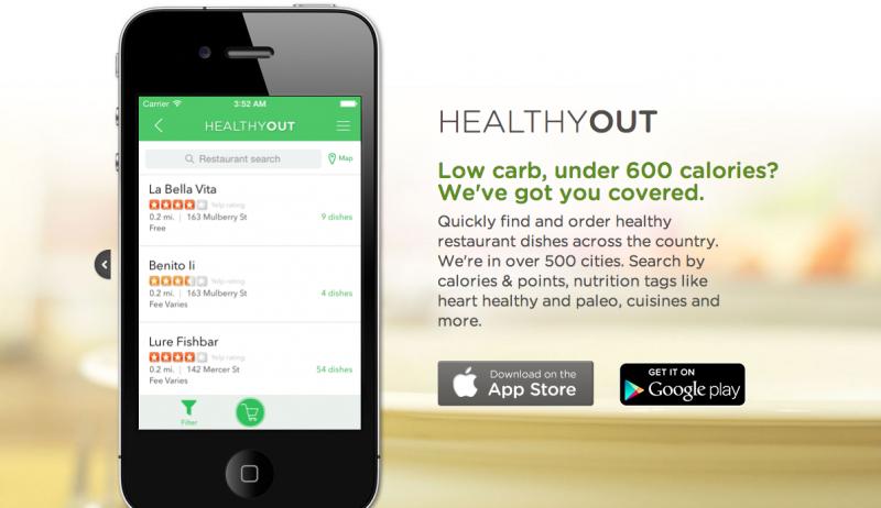 ダイエットにもつながる注目のWEBサービス・アプリ系スタートアップ vol.3『HealthyOut』