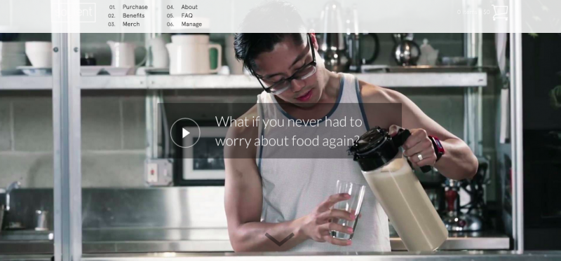ダイエットにもつながる注目のWEBサービス・アプリ系スタートアップ vol.4『Soylent』
