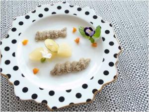初秋の薬膳レシピ④『梨とあんずのコンポート さつまいもとバナナのピュレ添え』| キレイで簡単★フレンチ薬膳で食べて健康ダイエット