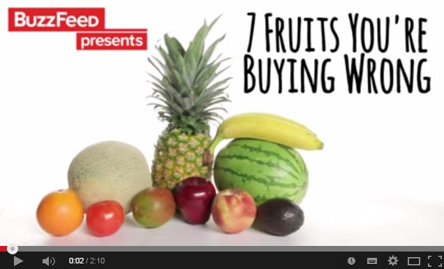【朗報】もう見た目にダマサれずに美味しいフルーツだけを見つけれるよ♪