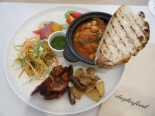 室谷真由美のビューティーフード・レポ 『daylesford』 | 表参道のマクロビ・ベジレストランで外食ダイエット
