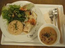 室谷真由美のビューティーフード・レポ 『PURE CAFE』 | 表参道のマクロビ・ベジレストランで外食ダイエット