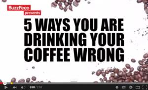 コーヒーをもっと楽しむための5つのライフハック!