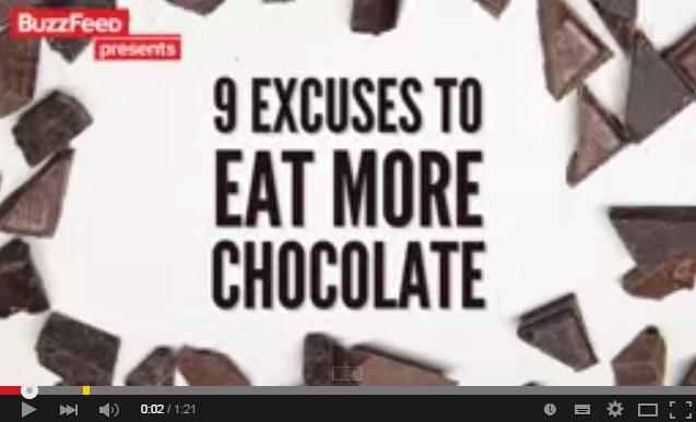 これは嬉しい!あなたがチョコレートを食べてもよい9つの理由!