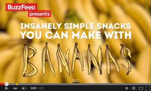 キター、バナナHack!!!これで毎日バナナダイエット♪