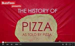 私たちが食べているピザはどこの国の食べ物でしょ?