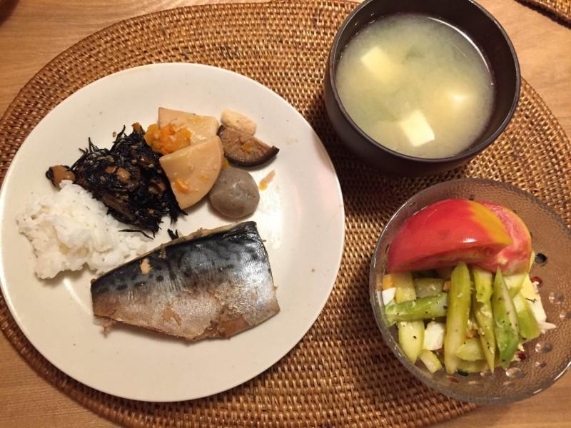 時短×食×産後ダイエット★鯖の味噌煮はオススメ