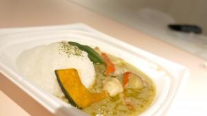 外食ダイエット「MUJI グリーンカレーライス [ファミリーマート] 」 | 30日間Mealthy Challenge Day15