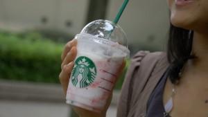 外食ダイエット「ストロベリークリームフラペチーノ 低脂肪タイプ Tall [Starbucks Coffee] 」 | 30日間Mealthy Challenge Break Time