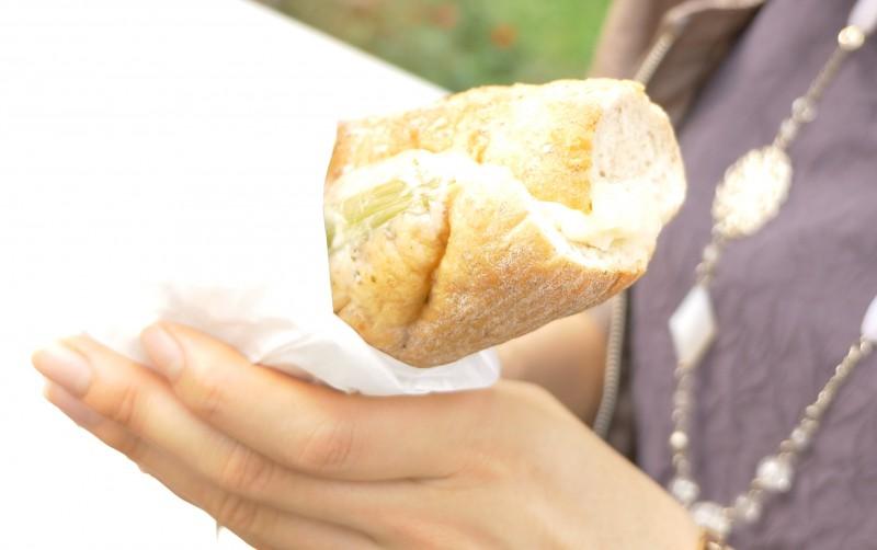 外食ダイエット「フィローネ ローストチキン レモンバターソース [Starbucks Coffee] 」 | 30日間Mealthy Challenge DAY18