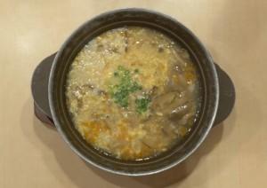 外食ダイエット「きのこ雑炊 [ガスト] 」 | 30日間Mealthy Challenge DAY21