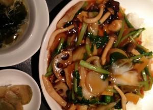 表参道のヘルシーレストラン探訪★笑龍『季節野菜の五目かけご飯』